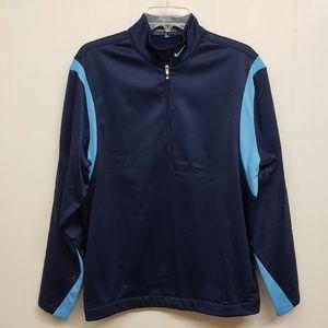 Nike Golf Therma-fit half-zip, dark blue